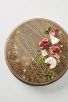 Anthropologie Engraved Cheese Board