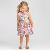Cat & Jack Baby Girls' A line dresses Cat & Jack - Peppermint Stick