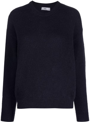 Closed Crew Neck Knit Jumper