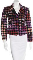 Emilio Pucci Textured Wool Blazer