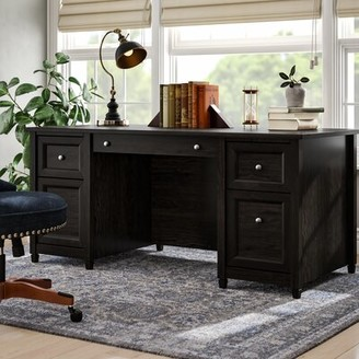 Three Posts Lamantia Executive Desk