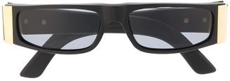 Gianfranco Ferré Pre-Owned 1990s Rectangle-Frame Sunglasses