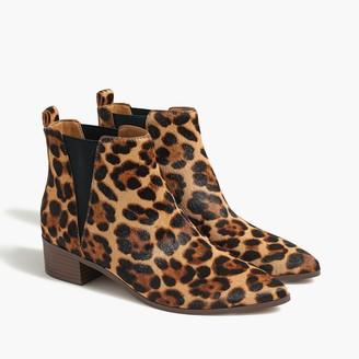 J.Crew Fallon calf hair boots