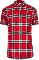 River Island Big & Tall Long Sleeve Check Shirt