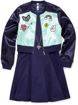 Knitworks Knit Works Long Sleeve Jacket &A-Line Dress - Big Kid Girls