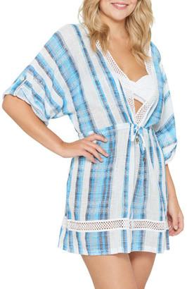 Dotti Mykonos Stripe Kimono Cover-Up