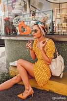 Forever 21 Polka Dot Print Dress