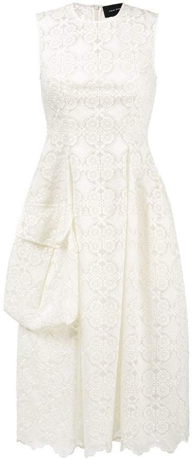 Simone Rocha Midi-Dress With Side Pocket