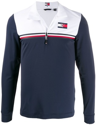 Rossignol x Tommy Hilfiger colour-block top