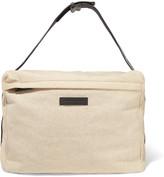 Brunello Cucinelli Embellished jersey shoulder bag