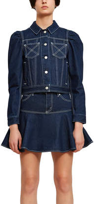 Chloe Sevigny for Opening Ceremony Puff Sleeve Denim Jacket