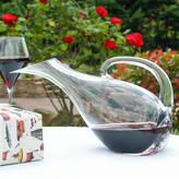 Dibor Gentleman's Red Wine Tilted Glass Carafe