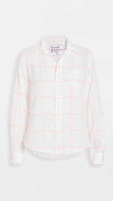 Frank And Eileen Womens Button Down Linen Shirt