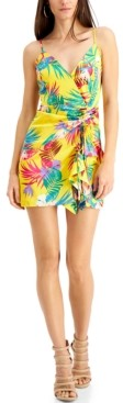 GUESS Chrissy Printed Ruched Dress