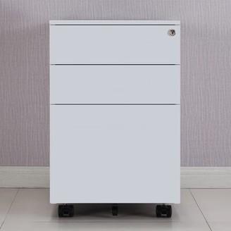 Ebern Designs Brickerville 3 Drawer Mobile Vertical Filing Cabinet