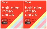 Mead Colored Index Cards