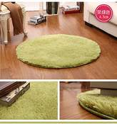 TDLC Circular rug fitness yoga mats nacelle lovely bedroom living room couch side carpet, diameter 2 meters long hairs