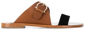 Salvatore Ferragamo Gancini flat sandals
