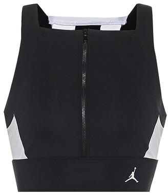 Nike Jordan Moto crop top