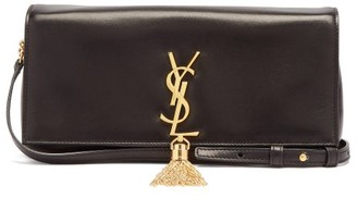 Saint Laurent Kate Tasselled Leather Cross-body Bag - Black