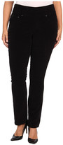 Jag Jeans Plus Size Malia Pull-On Slim Pinwale Cord