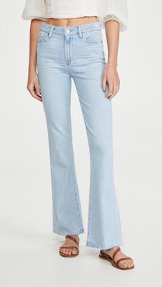 Paige Laurel Raw Hem Jeans