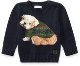 Ralph Lauren Boy Dog Cotton-Blend Sweater
