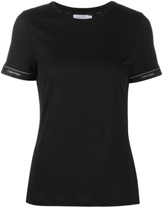 Calvin Klein logo cuff T-shirt