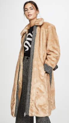 ALEXACHUNG Panelled Coat