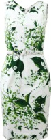 Samantha Sung Victoria White Blossoms Dress