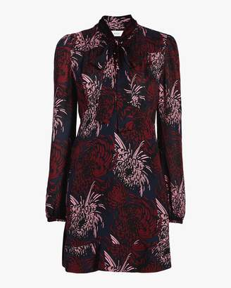 A.L.C. Emery Floral Silk Dress