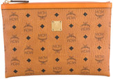 MCM printed zipped pouch