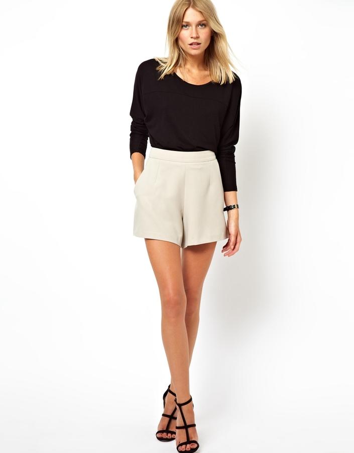 Asos Shorts in Crepe
