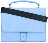 Pb 0110 foldover satchel - women - Calf Leather - One Size
