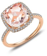 Lafonn Women's Classic Square Halo Ring