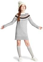Gap Fair isle merino wool-blend sweater dress