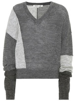 McQ Alpaca and wool-blend sweater