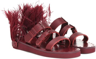 Valentino Escape leather sandals