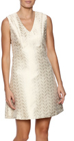 Julie Brown NYC Gold Party Dress