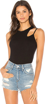 Lanston Split Strap Tank in Black. - size M (also in S,XS)