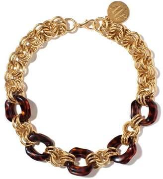 John Wind Maximal Art Gold Tortoise Necklace