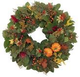 Williams-Sonoma Williams Sonoma Fall Pumpkin Wreath