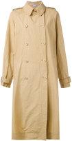 Stella McCartney double breasted trench coat - women - Polyamide - 38