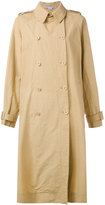 Stella McCartney double breasted trench coat - women - Polyamide - 40