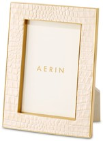 AERIN Classic Croc Leather Frame