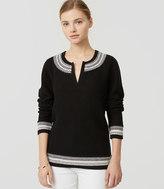 LOFT Petite Alpine Sweater