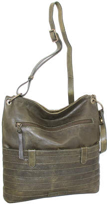 Nino Bossi Handbags Women's Handbags Green - Green Nieve Leather Crossbody Bag
