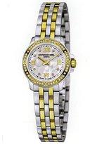 Raymond Weil Tango 5799-SPS-00995 23 Diamonds Steel Bracelet & Case anti-reflective sapphire Women's Watch