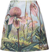 ADAM by Adam Lippes forest print mini skirt