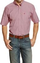 Ariat Halcion High-Performance Plaid Shirt - Short Sleeve (For Men and Tall Men)